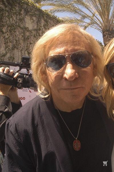 Joe Walsh at Ringo Starr's Peace and Love Celebration at Capitol Records.  July 7, 2016.