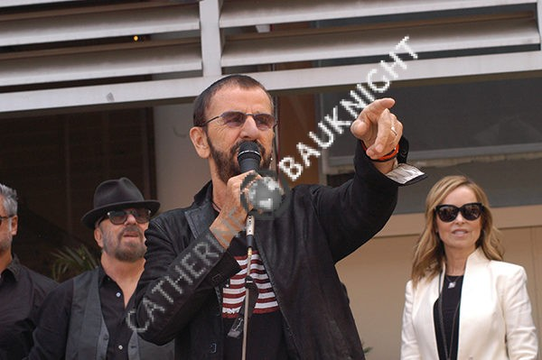 Ringo Starr celebrates with friends and fans at his Peace and Love Celebration.  July, 7 2016 at Capitol Records, Hollywood.